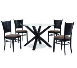 X ROUND 1200 +APPOLO CHAIR