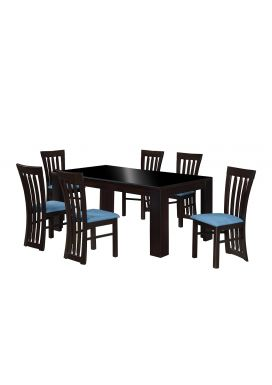 HENRY 1800-6X3.5 DINING TABLE+ SMITH CHAIR